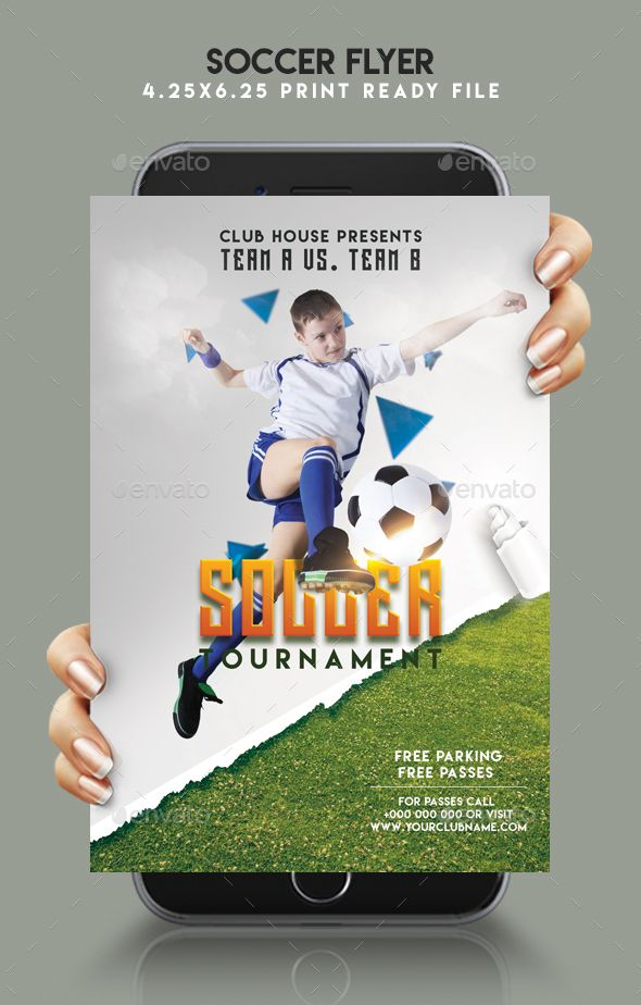 soccer flyer template flyer template and event flyers