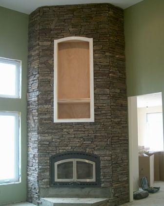 Cultured Stone 45 Degree Corners Masonry Contractor Talk Cultured Stone Fireplace Masonry Contractor
