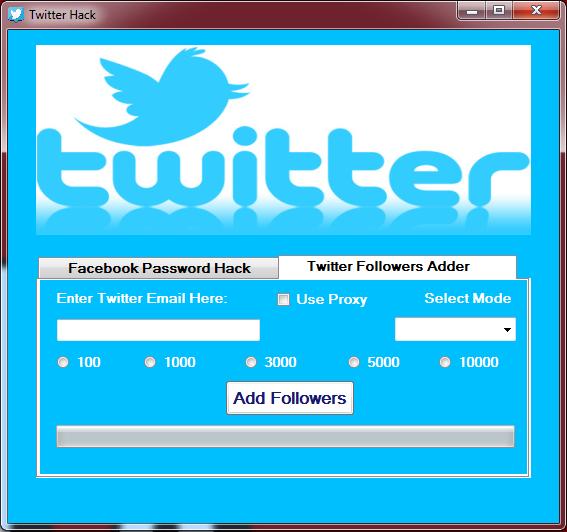 Twitter Followers Hack   Free Twitter Followers   Hack password