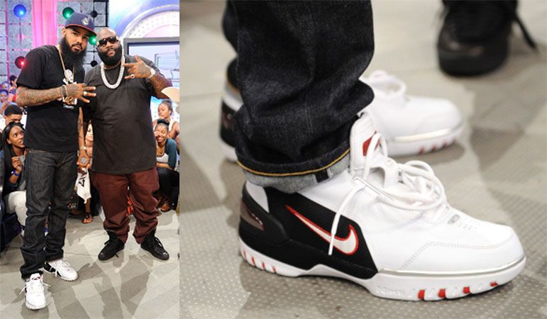 best website 90500 91ce9 Stalley appeared on 106   Park in the Nike Air Zoom Generation