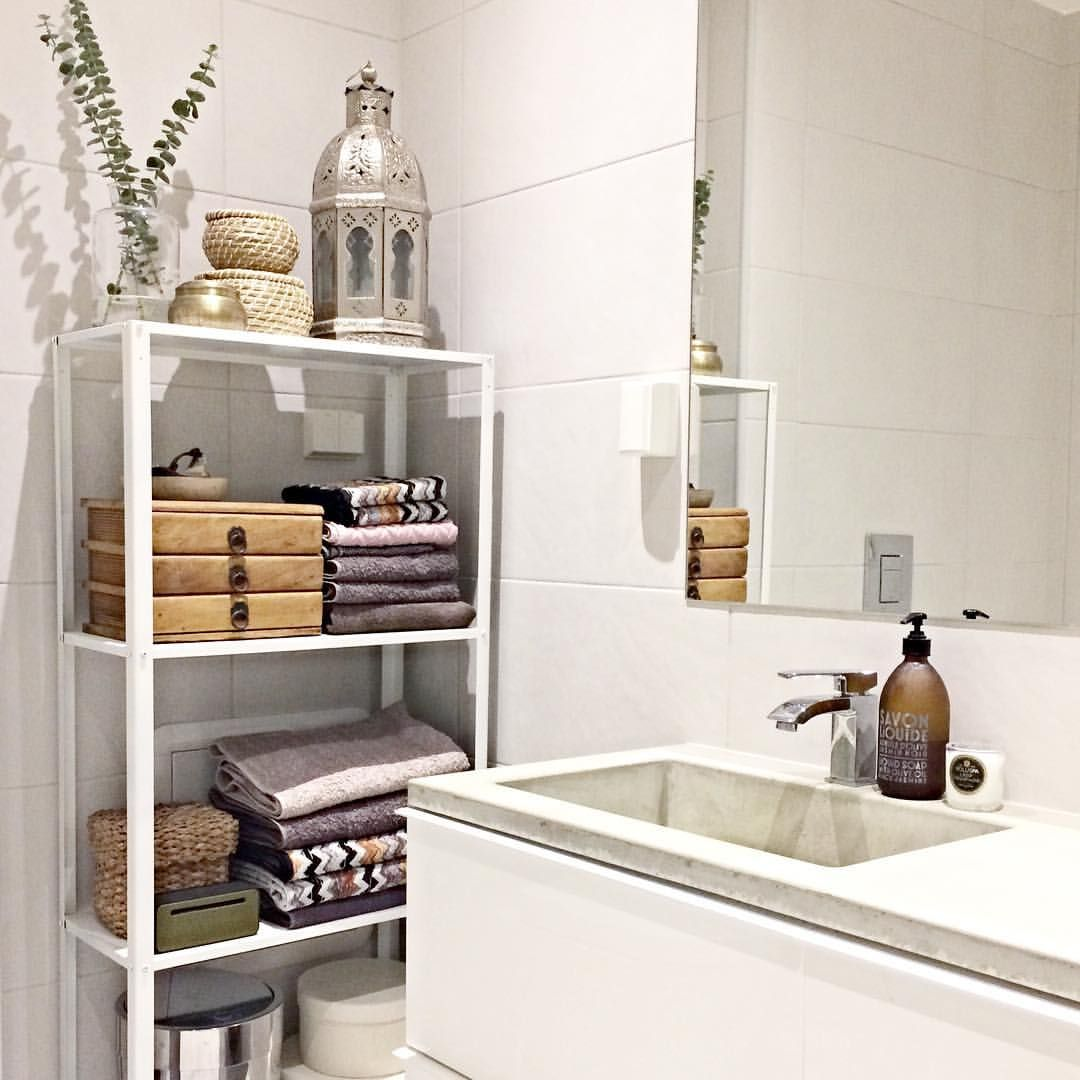 Badezimmer Ideen Instagram Hyllisikea For The Home Bathroom Ikea Bathroom Und