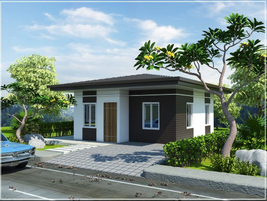 Semi Bungalow House Design Philippines In 2020 Bungalow House Design Simple Bungalow House Designs Modern Bungalow House