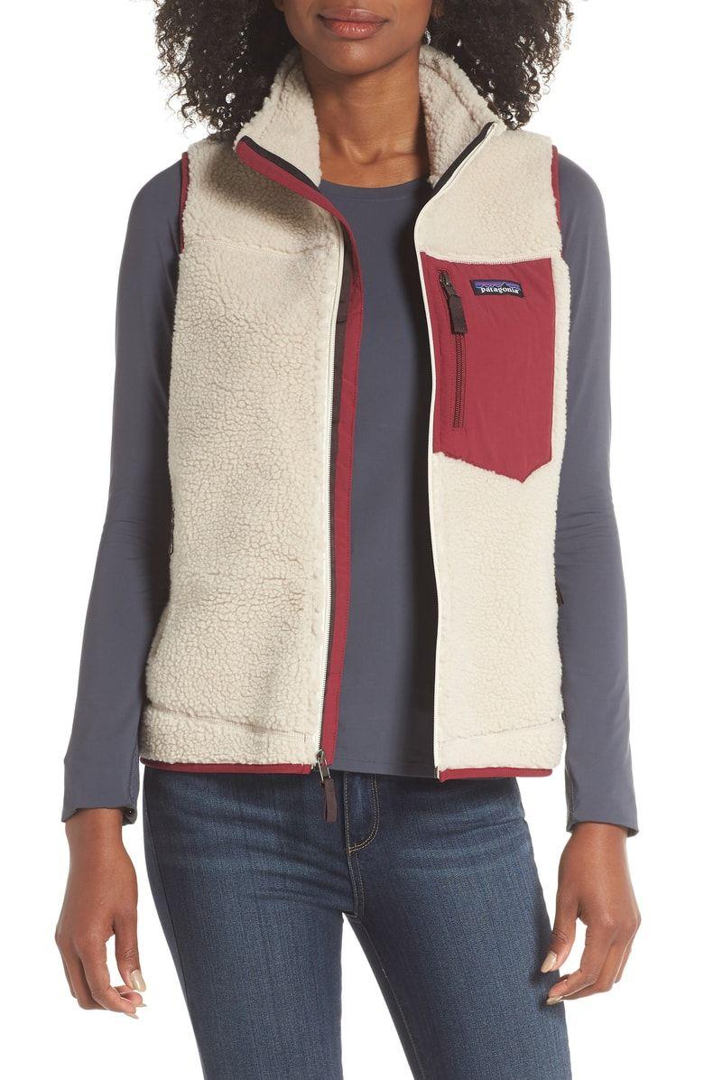 9e4391e9a Free shipping and returns on Patagonia Classic Retro-X® Fleece Vest ...