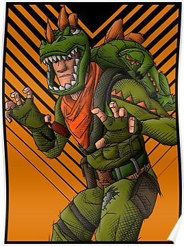 Fortnite rex skin poster concept art in 2019 video game art cute t rex art - Rex from fortnite ...