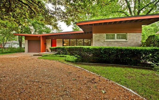 1950s modern home.