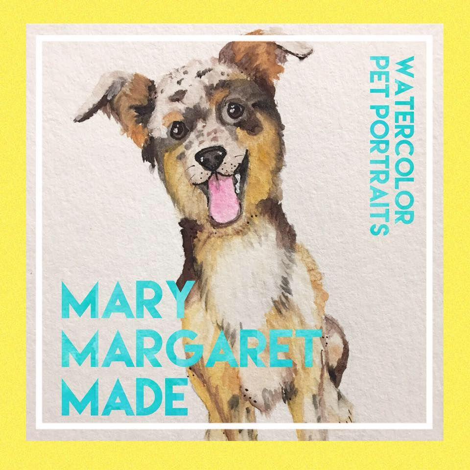 Watercolor Artist Captures Pet Personalities Watercolor