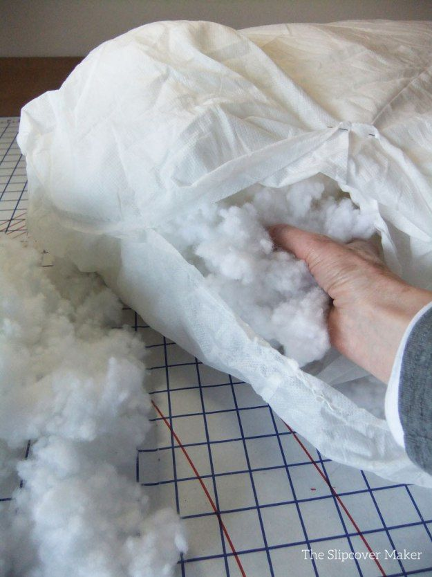 Superbe How To Refresh / Refill Back Sofa Cushions   Filling Sofa Cushion With New  Fill
