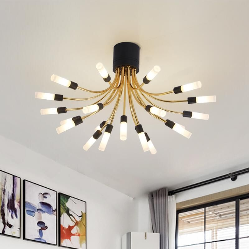 Nordic simple design flower style ceiling lights personalized luxury nordic simple design flower style ceiling lights personalized luxury gold restaurantlivingroom ceiling lamps acrylic aloadofball Images