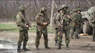 Политика: 7 украинских военных убиты под Краматорском