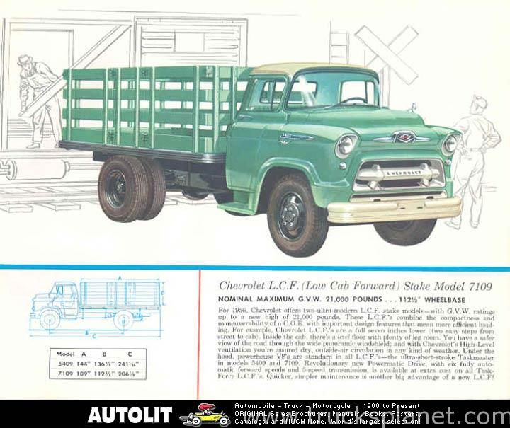 Tool Box Magnet 1956 Chevy 3100 Pickup Refrigerator