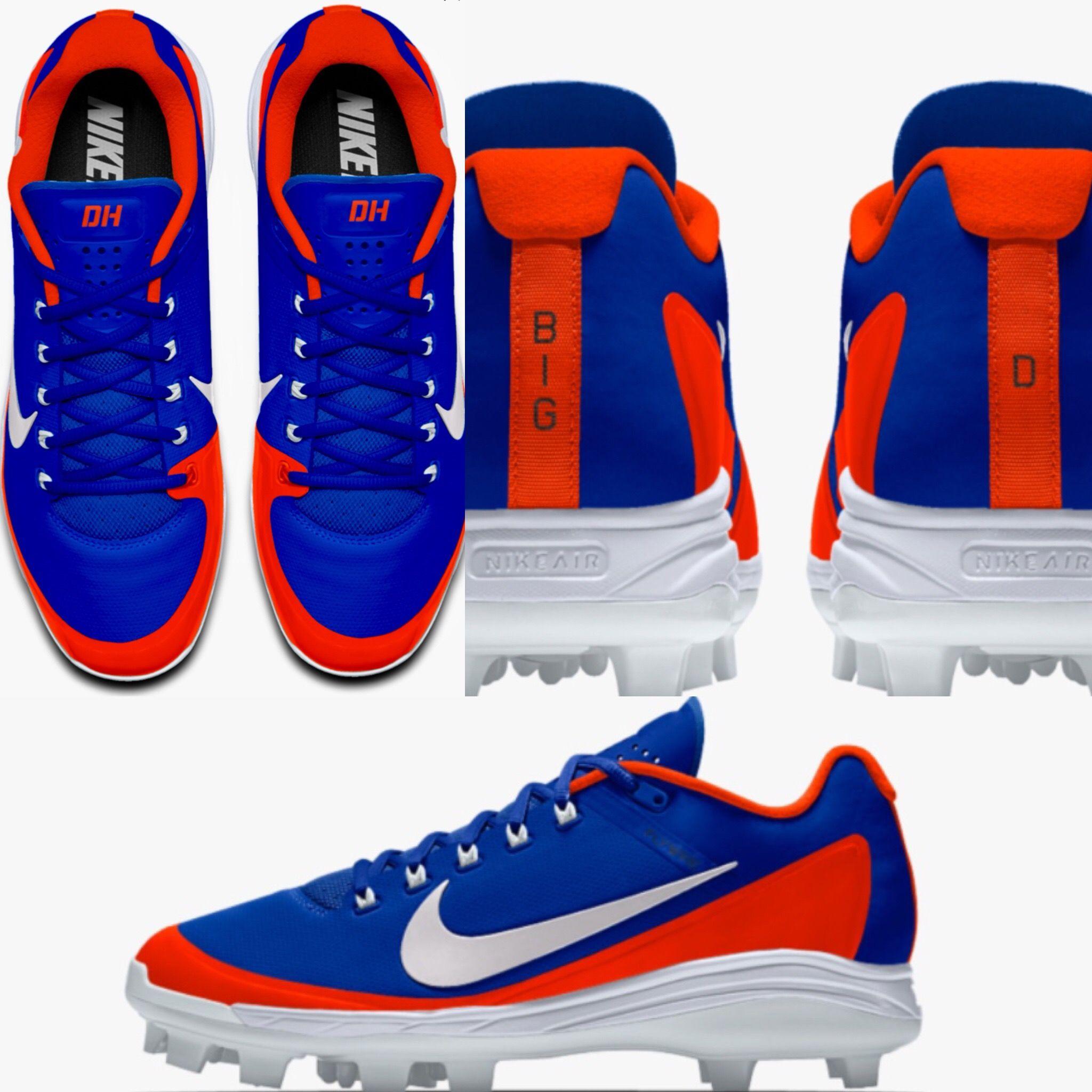 ba83fbdd2ad Diezel Hernandez Custom Nike Baseball Cleats 2018 Show Baseball 11U ...