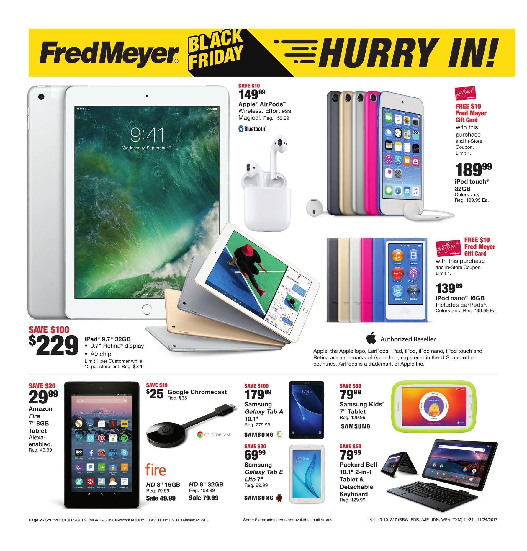Fred Meyer Black Friday 2018 Ads and Deals (Dengan gambar)