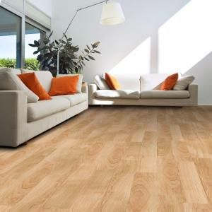 Golden Maple Resilient Vinyl Plank Flooring 24 Sq Ft Case 161215 At The Home Depot Mobile