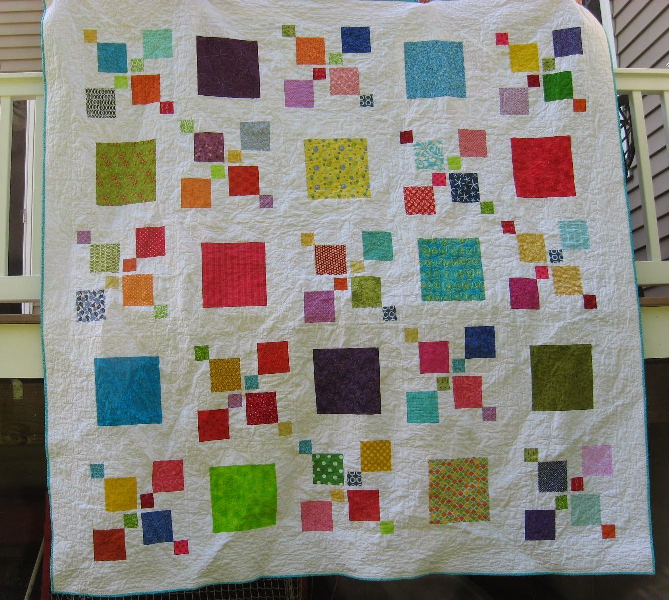 Hooked On Needles Impromptu Quilt Finally Finished Quilting