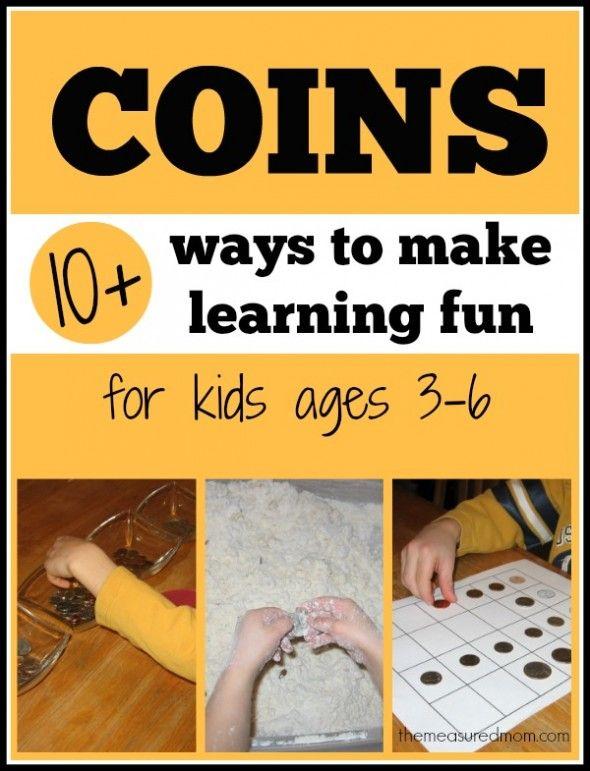 Worksheets Money Games For Preschool money math for preschool kindergarten and first grade coins grade