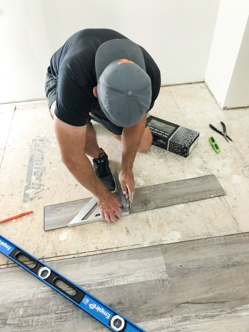 How To Install Luxury Vinyl Plank Flooring (With images