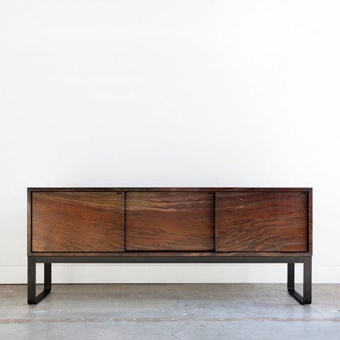 surprising modern living room credenza | The Ferro Credenza complements the Ferro Side Table and ...