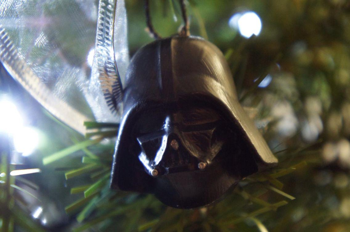 Star Wars Christmas tree ornament diy / Darth Vader / adorno para pino de Navidad