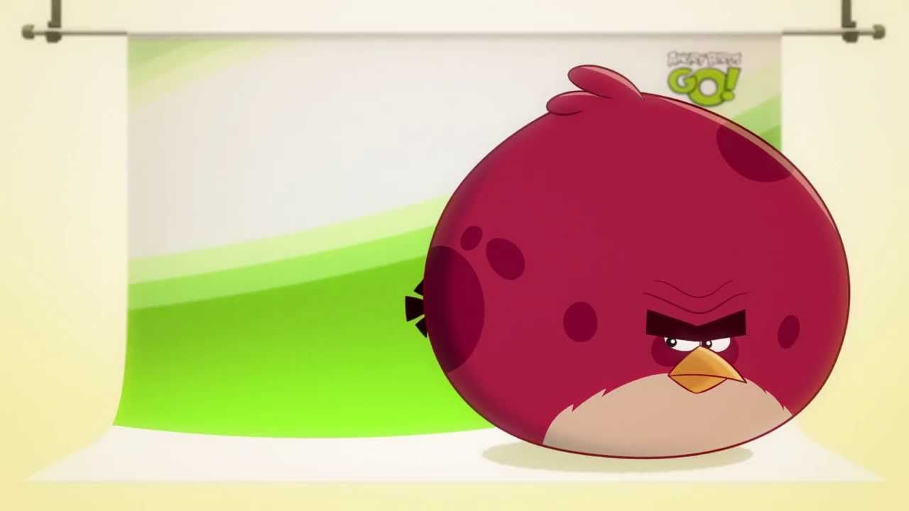 NEW! Angry Birds Go! character reveals: Terence | angry birds in