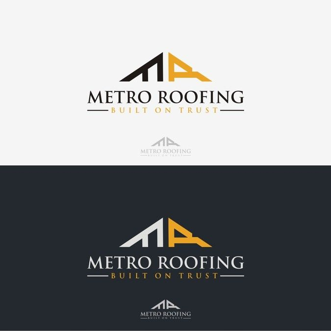 Create A Unique Commercial Residential Building Representing Roofing Company By Eastern Leopard Business Card Logo Design Roofing Companies Roofing