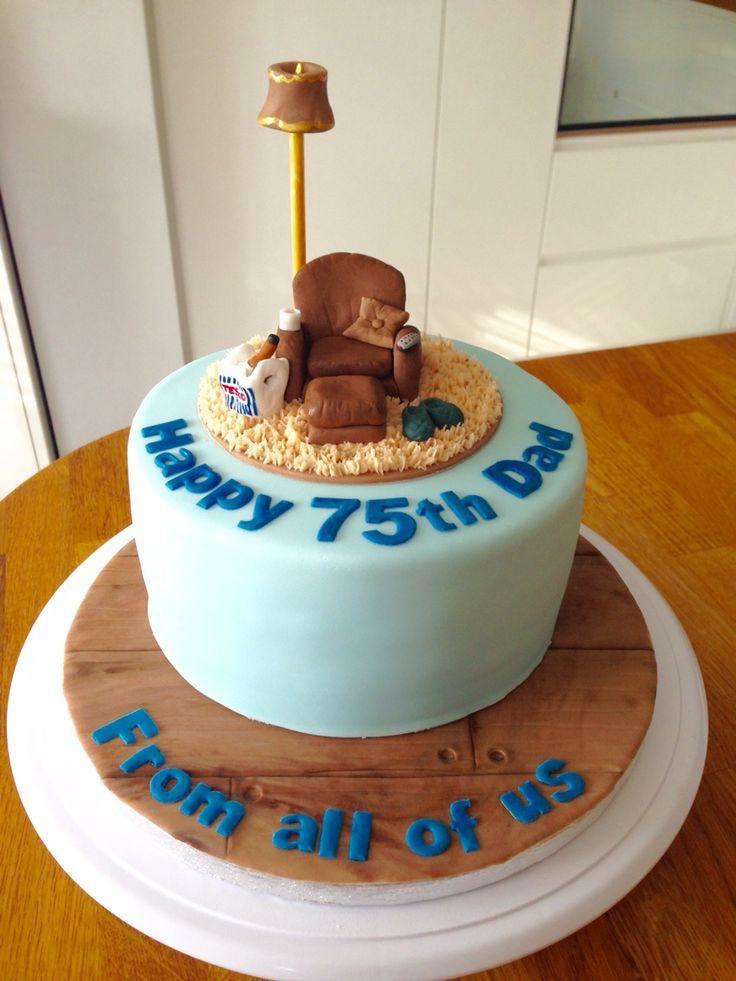 75th Birthday Cake 75 Parties Ideas Grandpa