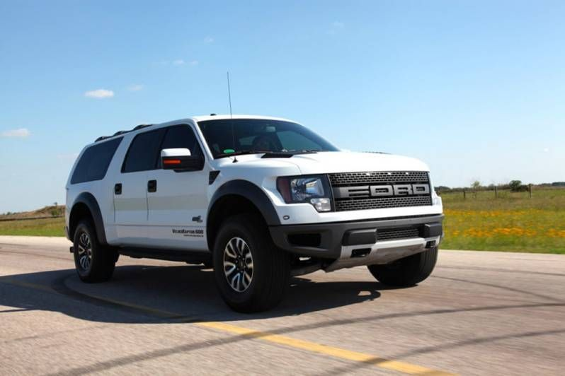 Ford excursion cars pinterest ford excursion ford and vehicle hennessey unveils raptor based velociraptor suv wvideos publicscrutiny Choice Image