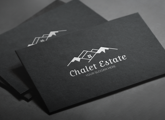 Mountain House Hotel Logo by LogoMagazin on Creative Market