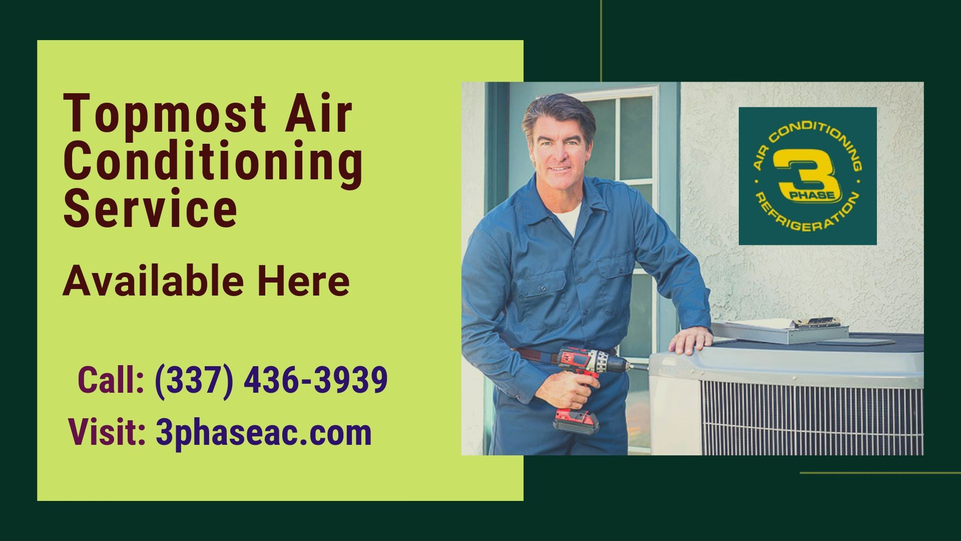 whether you are looking for the quality air conditioning service at three phase ac commercial maintenance we can install virtually any type of ac system  [ 1920 x 1080 Pixel ]