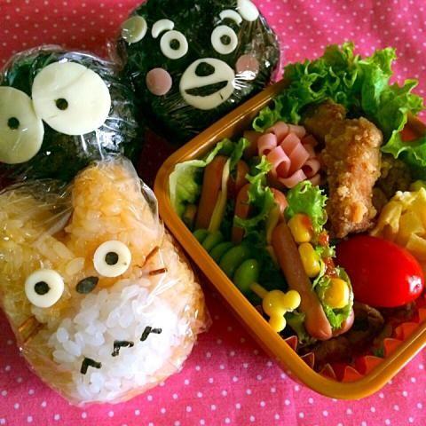 totoro kumamon onigiri