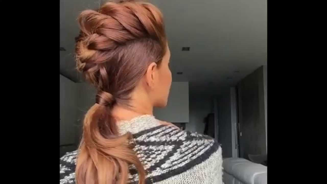 Mohawk braid by sarah angius youtube hair pinterest sarah