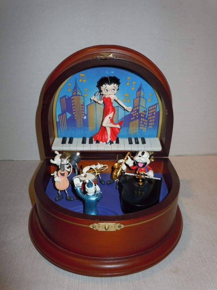 Details About Betty Boop Moonglow 7 Danbury Mint Figurine