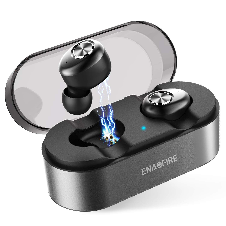 Wireless Earbuds, ENACFIRE E18 Latest Bluetooth 5.0 True
