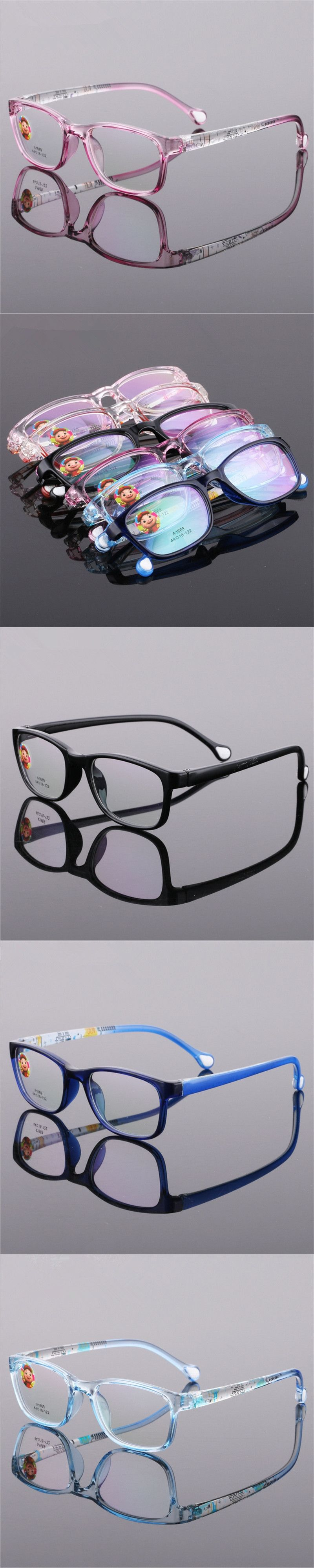 1f9f68ab81 TR90 Glasses Boy Girl Eyeglasses Lightweight Flexible Eyewear Frame  Children Prescription Glasses frame Silicone nose care