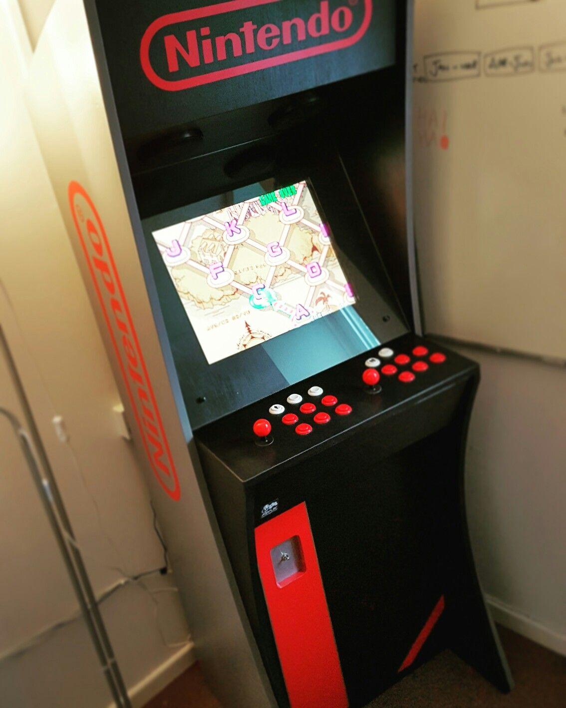 The fully upgraded Mark Zen multi game arcade machine