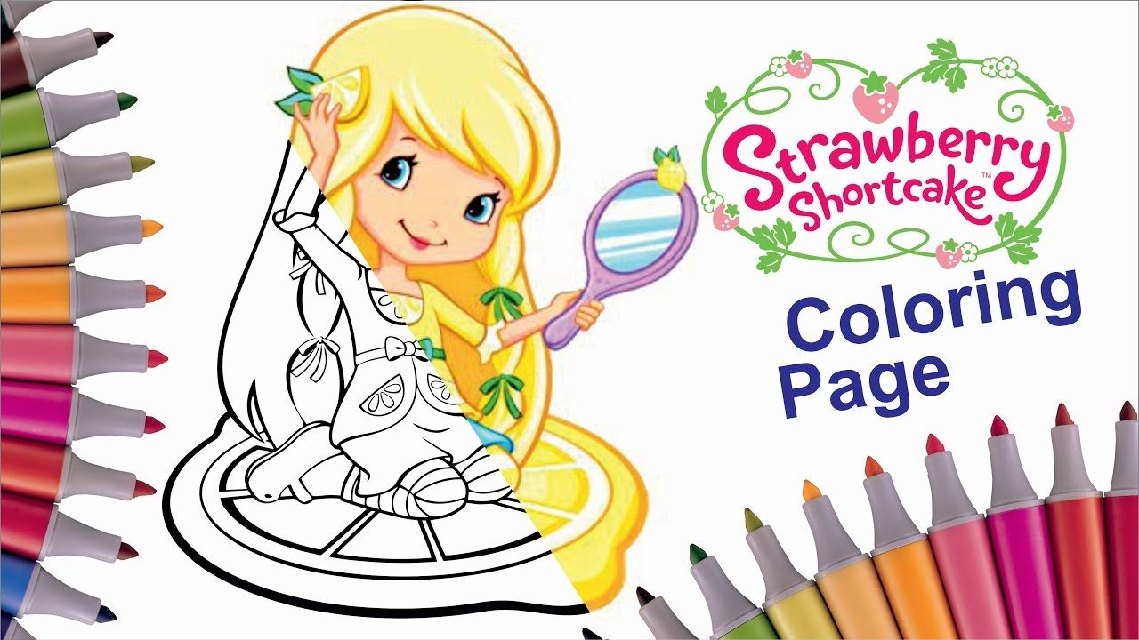 How to color Lemon Meringue Strawberry Shortcake
