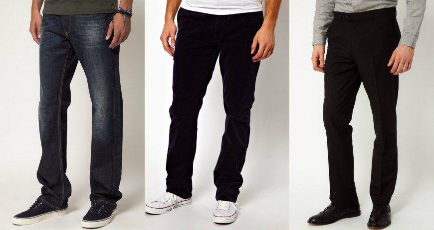 Pantalones ideales para chicos anchos de piernas