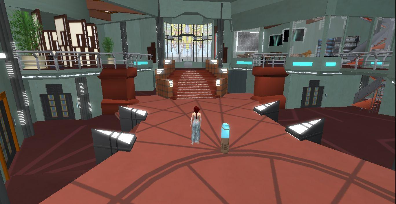 Stargate atlantis control room view inside atlantis for Futuristic control room