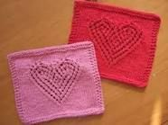 heart pattern knitting - Buscar con Google