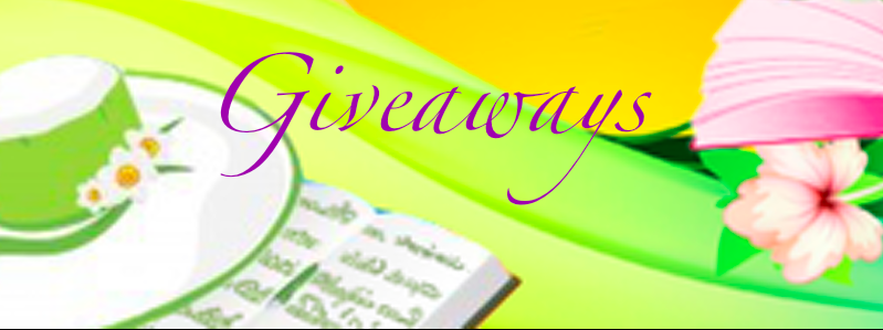 Giveaways on A Bookish Escape