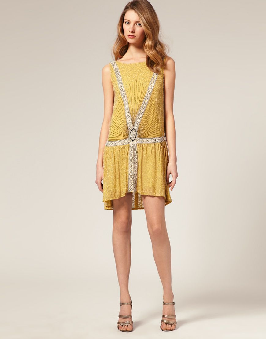 CHIC CHICKS FLAPPER DESSES   Beaded flapper dress, Flappers and Gatsby