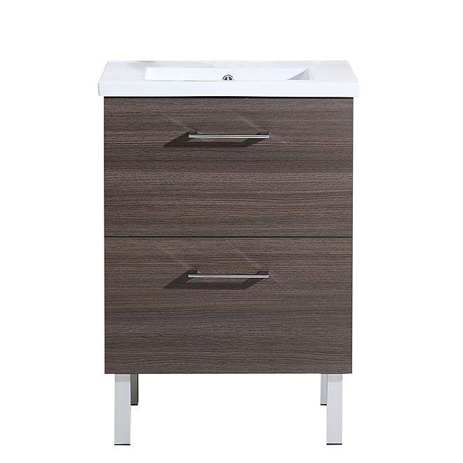 Meuble lavabo moderne «Tenor» | Salle de bain | Pinterest