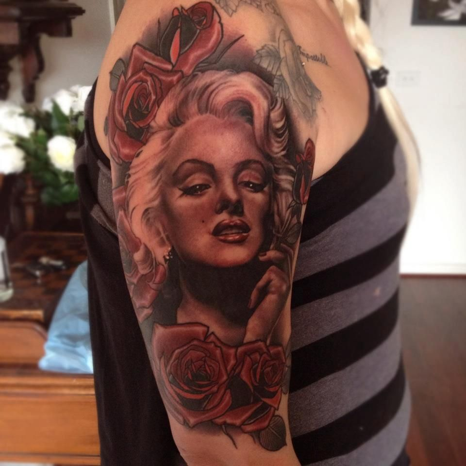 Emily Rose - Marilyn Monroe Pin Up Tattoo | The Best Pin Up ...