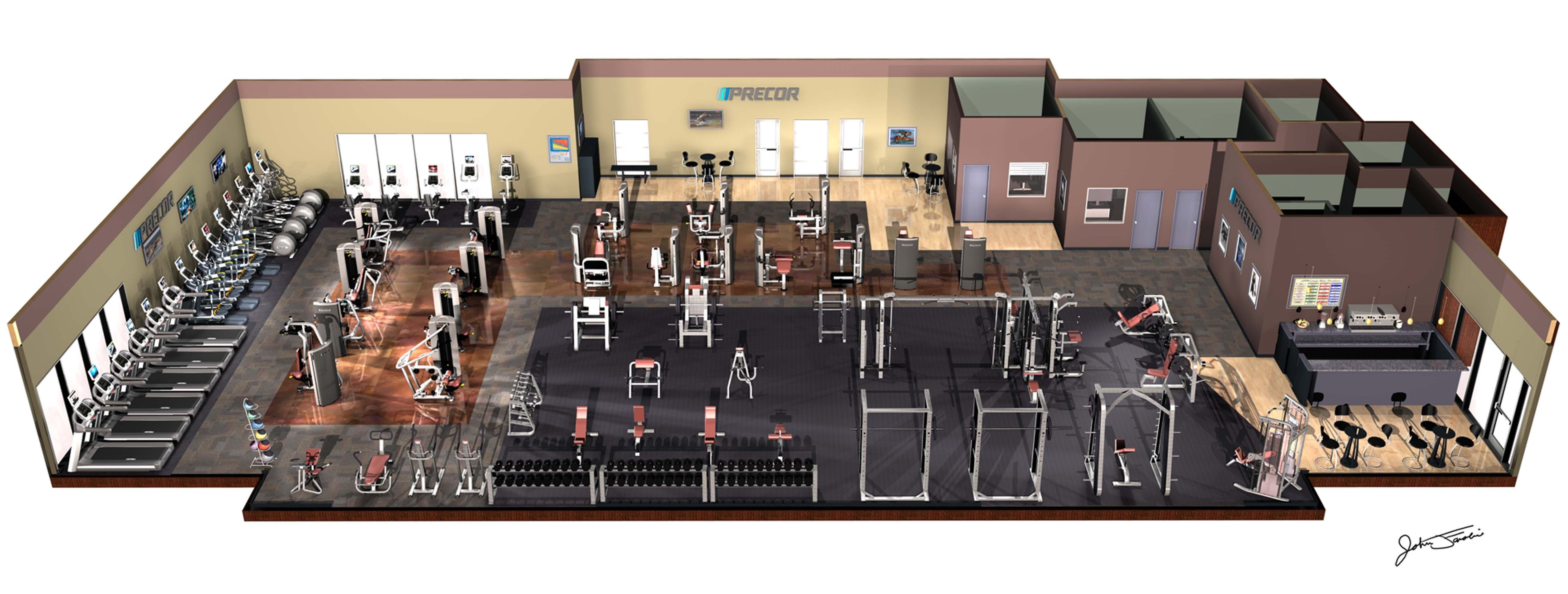commercial gym design - Yahoo Image Search Results | Gym ideas ...