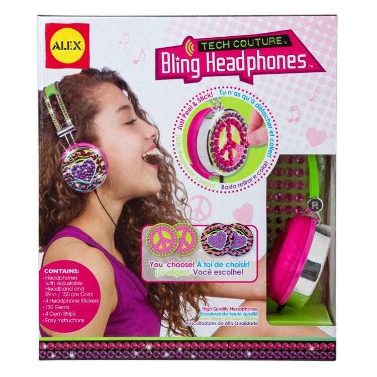 Decorate your headphones girls craft kit alex toys