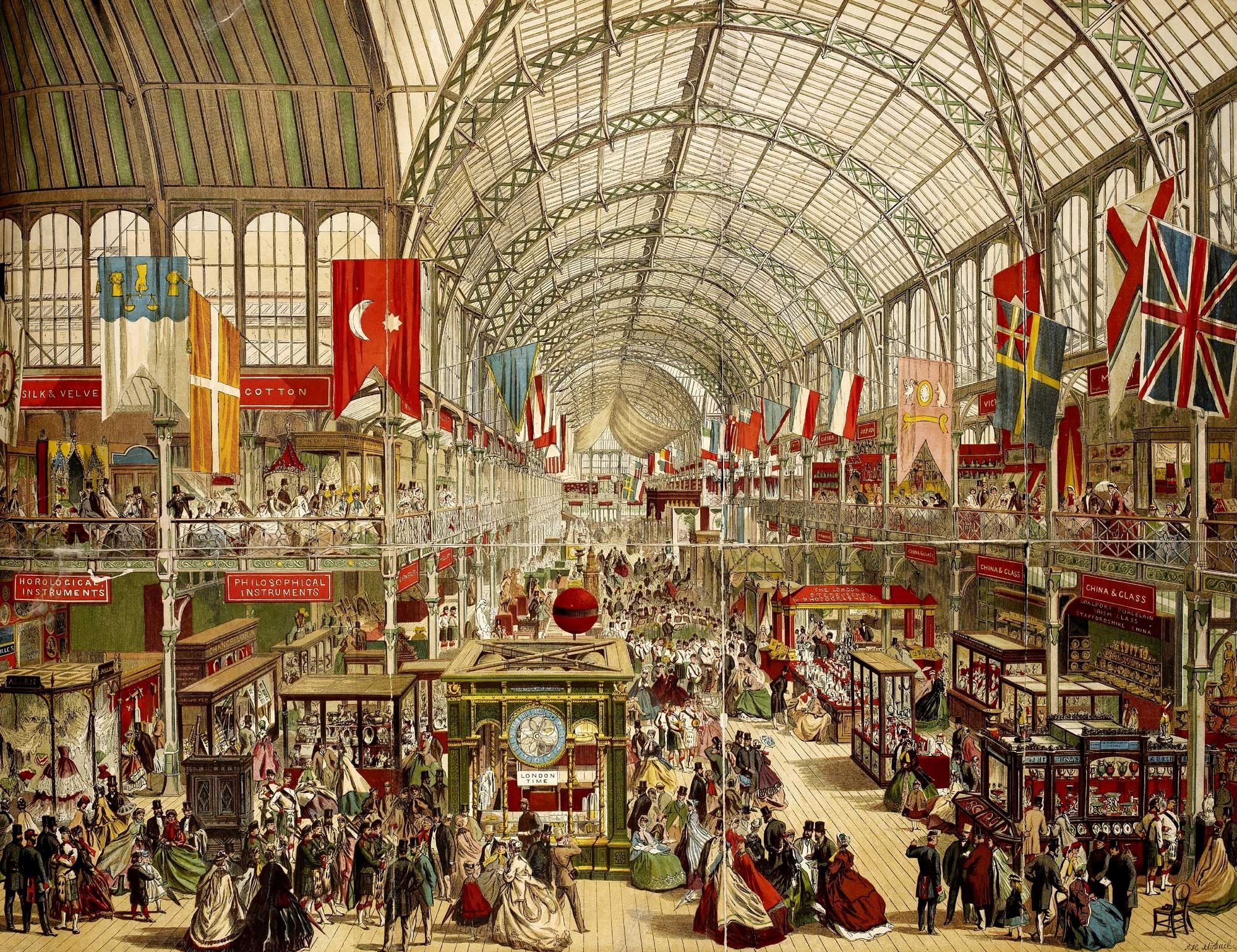 Joseph Paxton - Crystal Palace, The Great Exhibition. London, 1851.