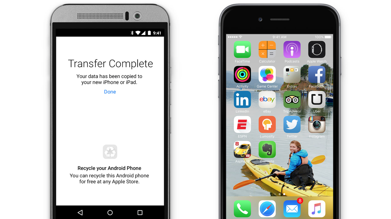 Apple made an Android app that helps people switch to iOS