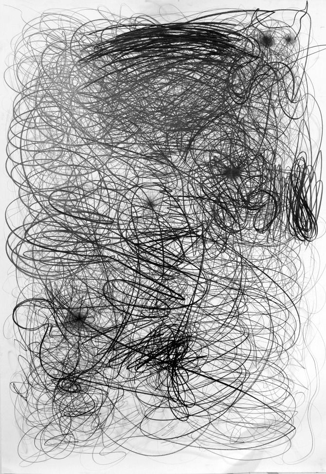 Shintaro Yamakawa Lines 2012 Modern Art Abstract Art