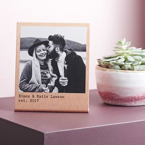 85738e75d2f6 Personalised Solid Copper Polaroid Print - This Valentine s Day we ve all  kinds of heartfelt finds