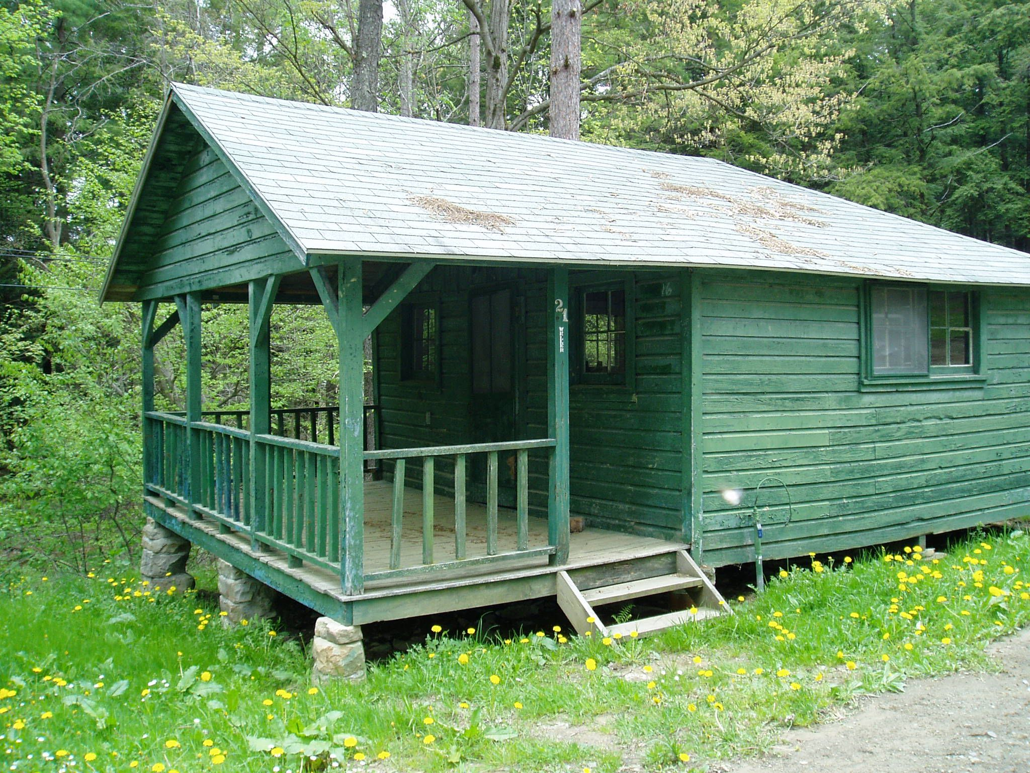 An Allegheny State Park Cabin
