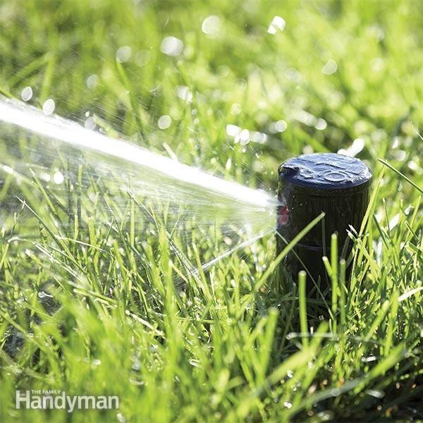 Replacing Broken Lawn Sprinkler Heads Lawn Sprinklers Lawn Sprinkler System Lush Lawn